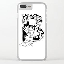 Birdie B Clear iPhone Case