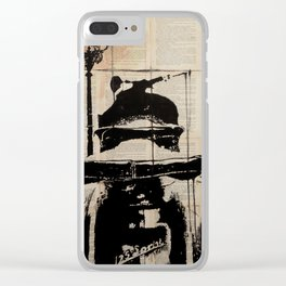 Vintage dream Clear iPhone Case