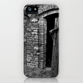 Old abandoned barn iPhone Case