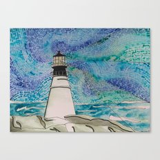 The Moody Blue Light Canvas Print