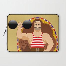 Circus strongman Laptop Sleeve