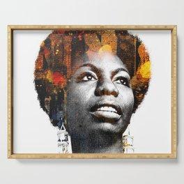 Nina Simone Serving Tray