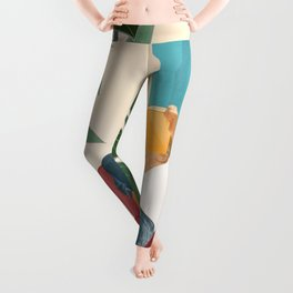On the pages of a book Leggings