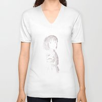 chihiro V-neck T-shirts featuring Chihiro by Aletifer