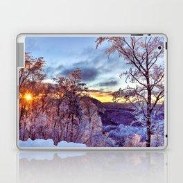 Icy Forest Awakens Laptop & iPad Skin