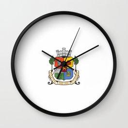 Flag of Sofia Wall Clock