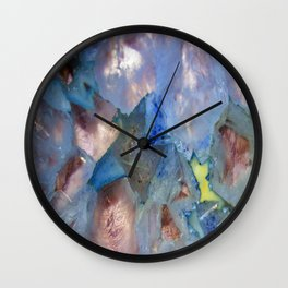 Cryptic Crystal Writings...  Wall Clock