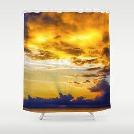 Dragon's breath Shower Curtain