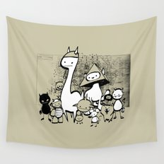minima - coup Wall Tapestry