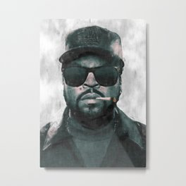 Ice Cube with joint sketch Metal Print