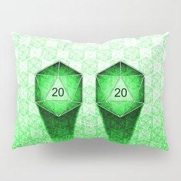 D20 All I Do Is Crit! Natural 20's Pervert Version Pillow Sham