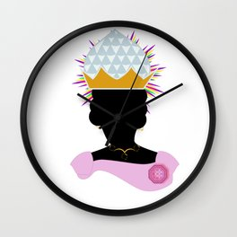 Queen Nzinga of Ngondo and Matamba Wall Clock