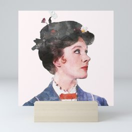 Mary Poppins - Watercolor #2 Mini Art Print