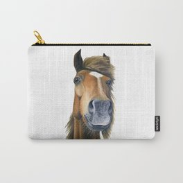 Chestnut Pony Carry-All Pouch