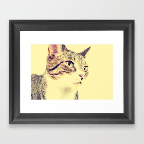 Unyielding Framed Art Print
