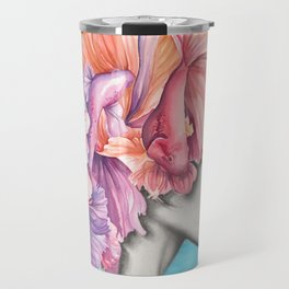 Betta Fish Artwork Travel Mug
