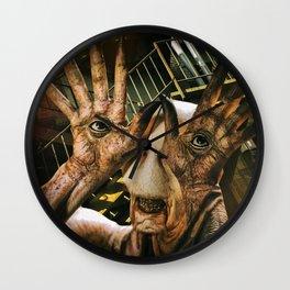 Man Needs Glasses Wall Clock