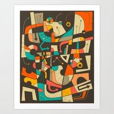 Interzone Art Print