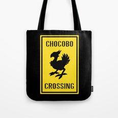FINAL FANTASY: WARNING, CHOCOBO CROSSING Tote Bag