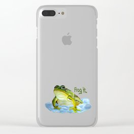 Frog it Clear iPhone Case