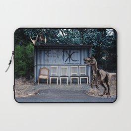 Waiting for a bus Laptop Sleeve
