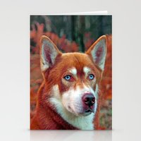 ginger Stationery Cards featuring ginger by Doug McRae