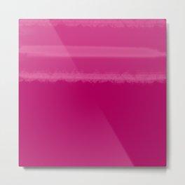 Taped | Pink Metal Print