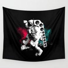 Basstronaut Wall Tapestry