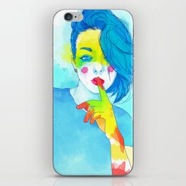 Colorful Kaya iPhone Skin