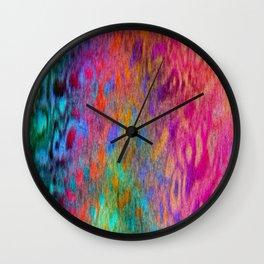 Color Cloud Wall Clock