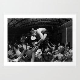 Hardcore Lives Art Print