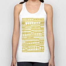 Golden Doodle abstract Unisex Tank Top