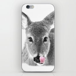 DEER LICK iPhone Skin