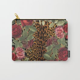 Ring Around the Leopard Carry-All Pouch