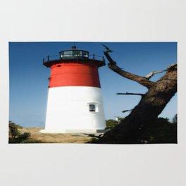 Nauset Lighthouse photography Rug