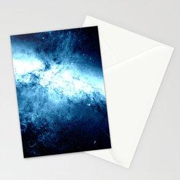 Classic Blue Nebula Galaxy Messier M82 Stationery Cards