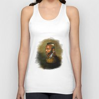 replaceface Tank Tops featuring Mr. T - replaceface by replaceface