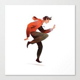 Dancing Boy Canvas Print