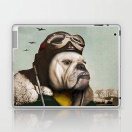 "Wing Commander, Benton ""Bulldog"" Bailey of the RAF Laptop & iPad Skin"