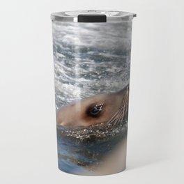 Seal Close Up Travel Mug