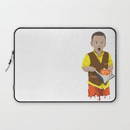 Thought Provoking Kid Laptop Sleeve