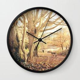 Hampstead Heath Wanderings Wall Clock