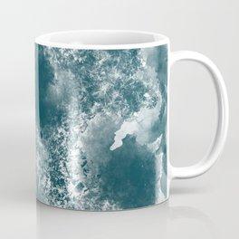 Teal Abstract Coffee Mug