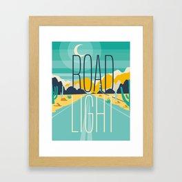 Road Light Framed Art Print