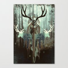 The forest spirits Canvas Print