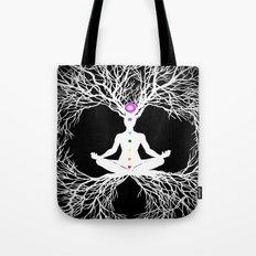 Tree of Life White Tote Bag