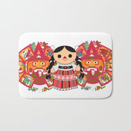 Maria 4 (Mexican Doll) Bath Mat