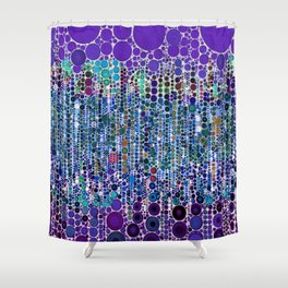 :: Purple Rain :: Shower Curtain