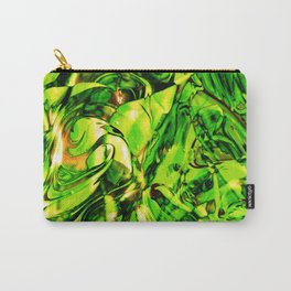 Fluid Painting 3 (Green Version) Carry-All Pouch