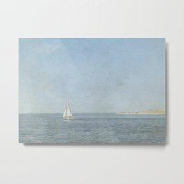 Sunday Sail  - Cape Cod Metal Print